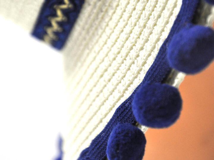 Cappello Donna Bianco-blu
